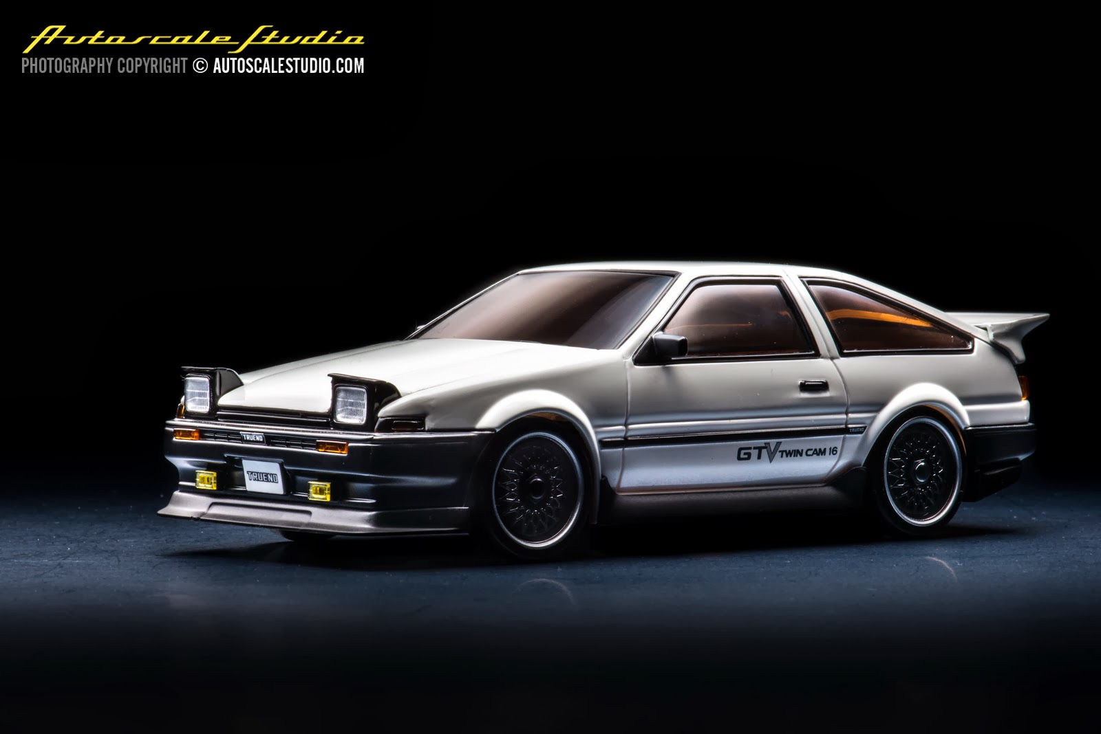 mzp410w toyota sprinter trueno ae86 aero version white autoscale studio. Black Bedroom Furniture Sets. Home Design Ideas
