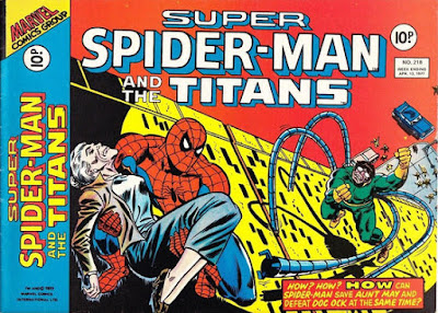 Super Spider-Man and the Titans #218, Doctor Octopus and Aunt May