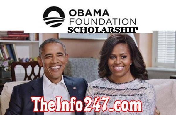 Apply for Obama Foundation Scholarship Program at University of Chicago