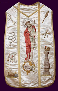 Three Historical Chasubles: A Visual Meditation for the Sacred Triduum