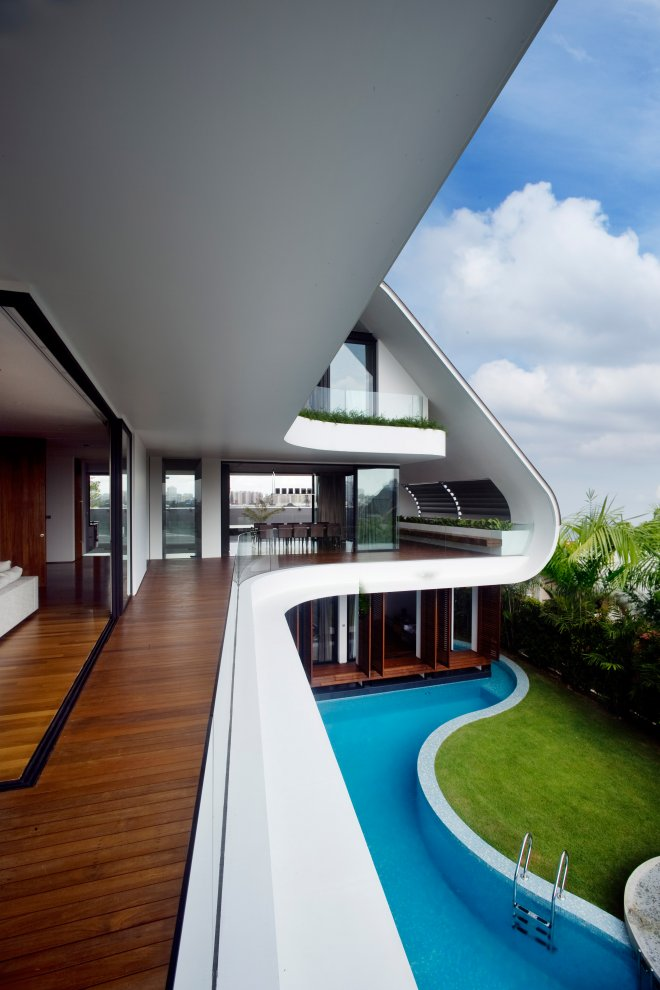 Beautiful Home In Singapore Most Beautiful Houses In The