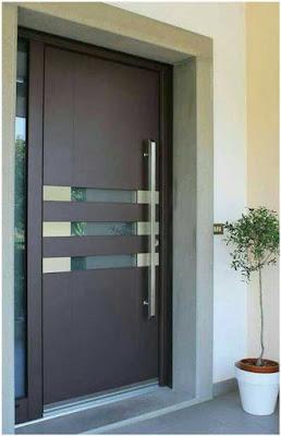 foto pintu kantor minimalis