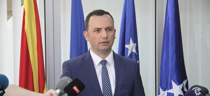 Osmani: Government focuses on the name issue with Greece