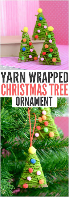 http://www.easypeasyandfun.com/yarn-wrapped-christmas-tree-ornaments/