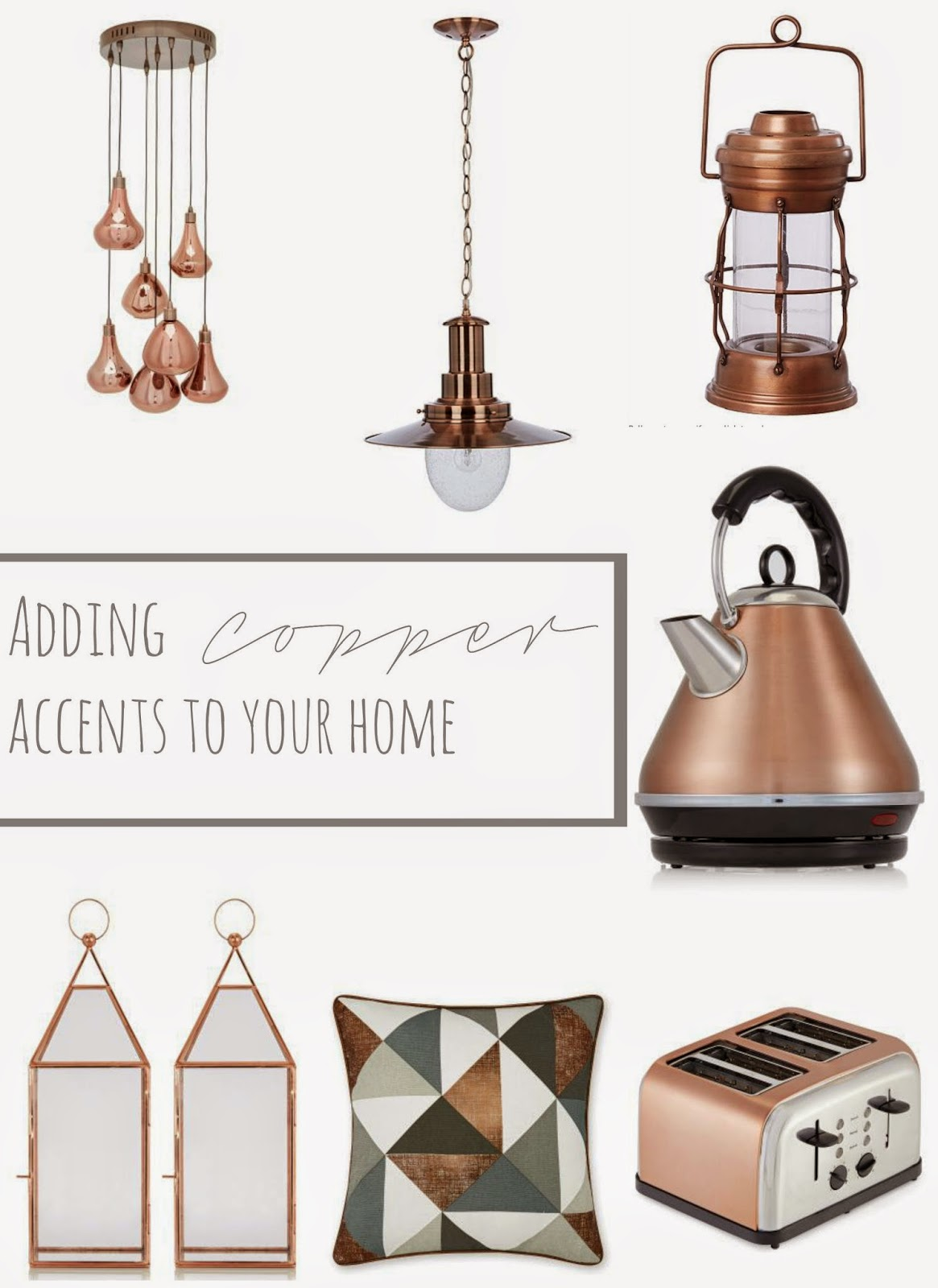Copper Accents to your home