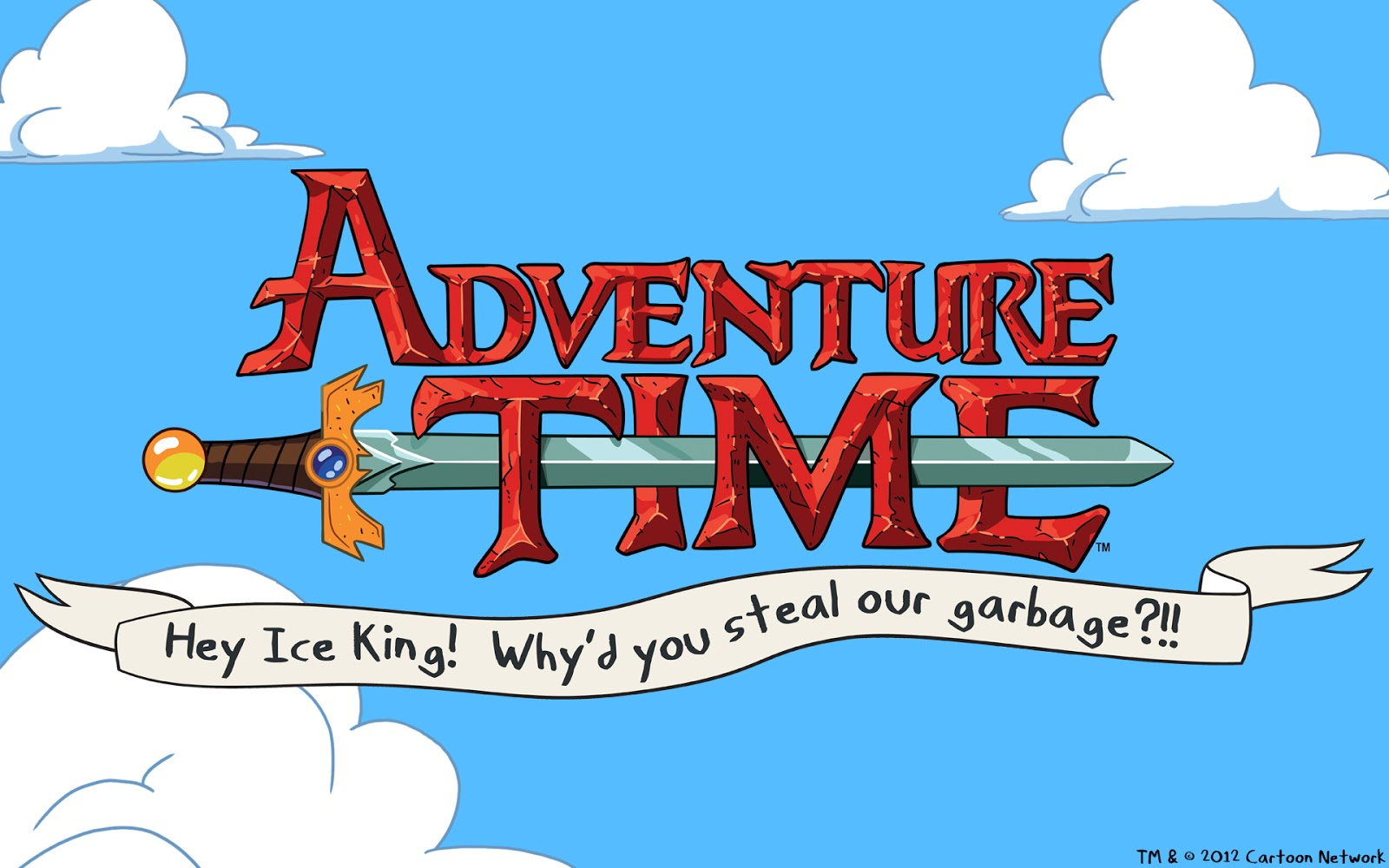 Adventure Time Hey Ice King Whys You Steal Our Garbage