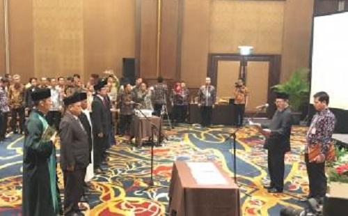 Resmi Dilantik, Anggota Panwaslu Kabupaten/Kota di Jabar Mulai Awasi Pilkada