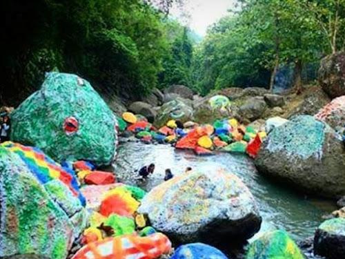 Serunya Bermain Air Di Alam Terbuka Di Tanjung Golok Ciamis