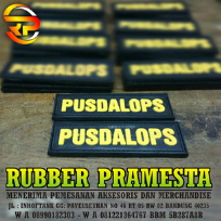 VELKRO KARET UNTUK DI TEMPEL DI JAKET  | PATCH RUBBER | RUBBER PATCH | PATCH RUBBER CUSTOM | RUBBER PATCH CUSTOM