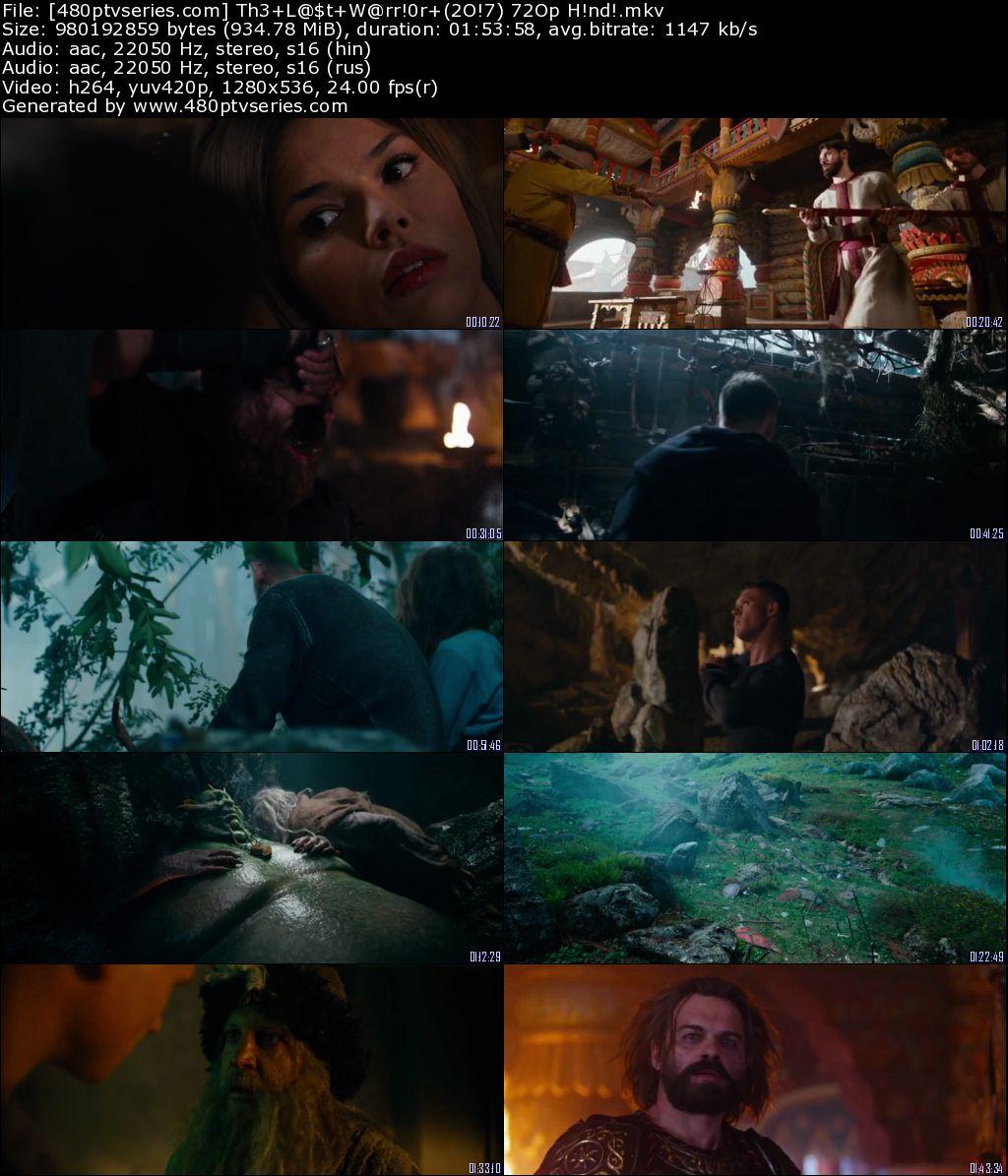 The Last Warrior (2017) 900Mb Full Hindi Dual Audio Movie
