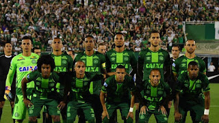 The Brazil national team which got a plane crash accident in Medellin, Colombia. PHOTO | AFP