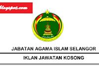 Jawatan Kosong Jabatan Agama Islam Selangor 09 Disember 2016