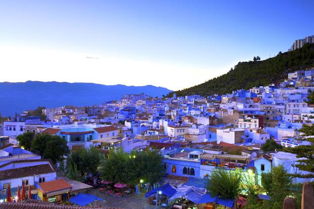 المدينة الزرقاء في المغرب