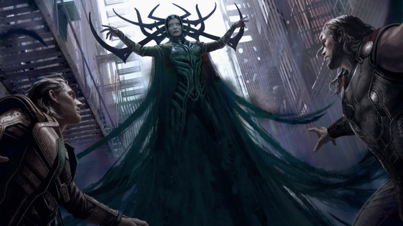 New Concept Art Shows Off Black Panther's Wakanda and Thor: Ragnarok's Villain Hela