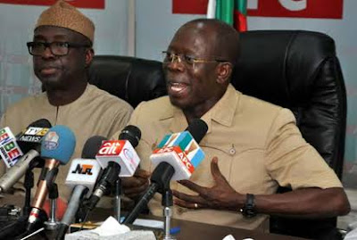 Saraki Must Vacate That Seat Of Senate President - Oshiomhole