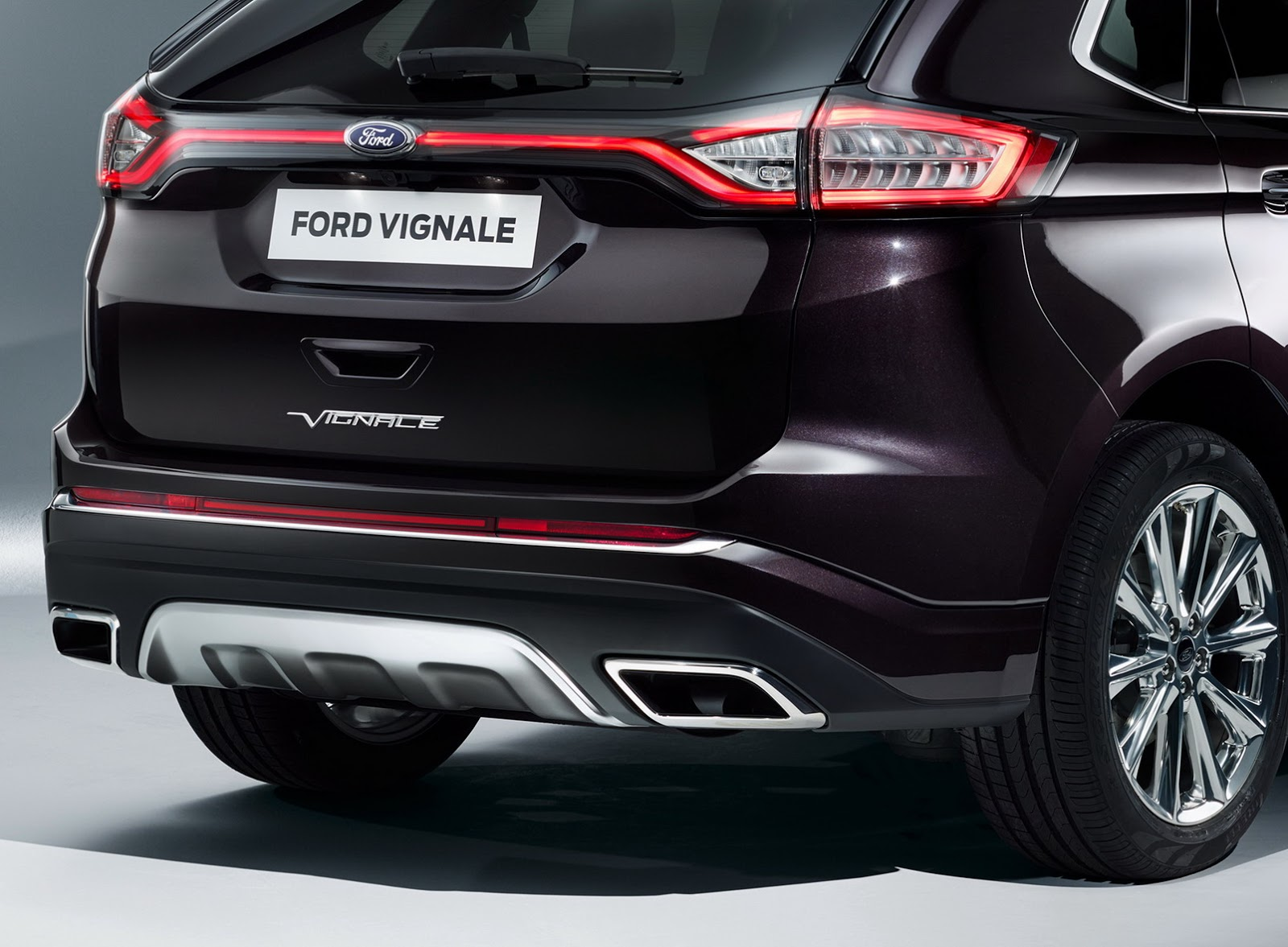 Ford Luxes Up Edge, Kuga, Mondeo & S-MAX With Vignale ...