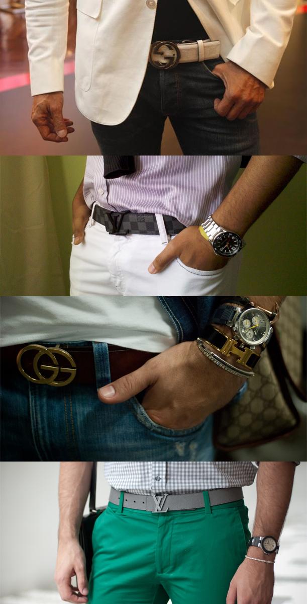 Hermes, Gucci, Calvin Klein, Louis Vuitton, Dolce   Gabbana, Channel,  Ferragamo entre uma variedades de grifes que estão deixando seus símbolos  ... 7b899cde01