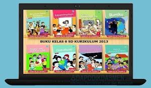 Buku Tematik Kelas 6 Semester 2 Kurikulum 2013 Lengkap Buku Guru dan Siswa