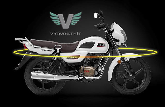New TVS Radeon 110cc motorcycle 01