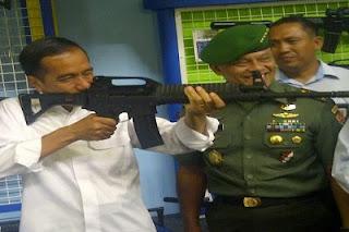 Presiden Joko Widodo Dianggap Telah Sukses Perkuat Pertahanan Indonesia, Benarkah ? - Commando