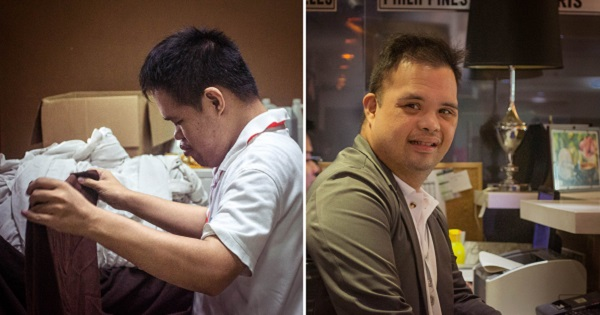 Davao hotel earns praise for OJT program for people with special needs