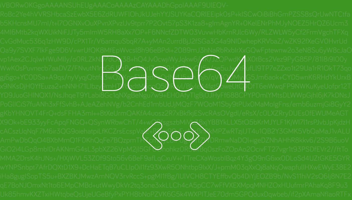 Base 64 image