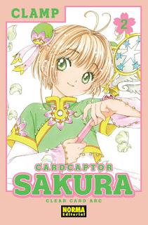 """Manga: Reseña de """"Card Captor Sakura, Clear Card Arc #2"""" de CLAMP - Norma Editorial"""