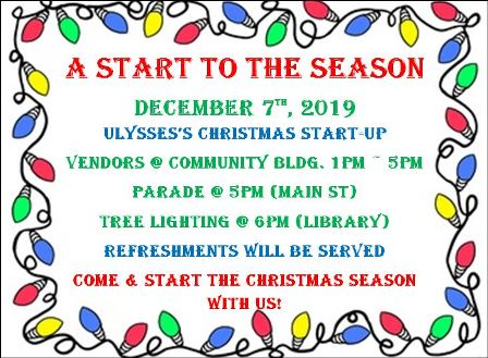 12-7 Ulysses's Christmas Start-Up