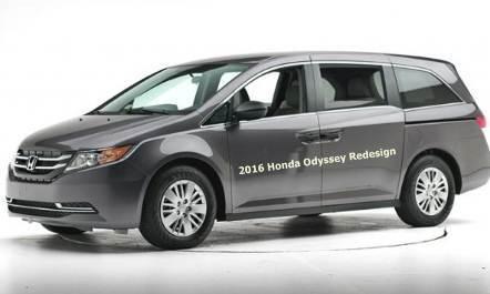 2016 Honda Odyssey Redesign