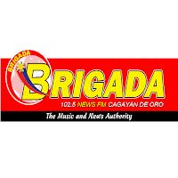 Brigada News FM DXYQ 102.5 Cagayan De Oro logo