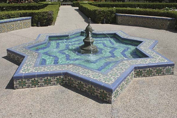 Fountain Persian Garden Style