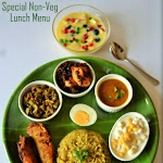 Special Non-Veg Lunch Menu | Special Weekend Lunch Menu | Lunch Menu - 1 | Lunch Ideas