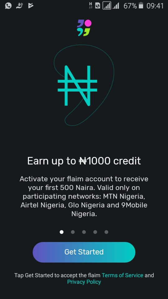 Download Flaim App & get free 700MB on all Networks in Nigeria