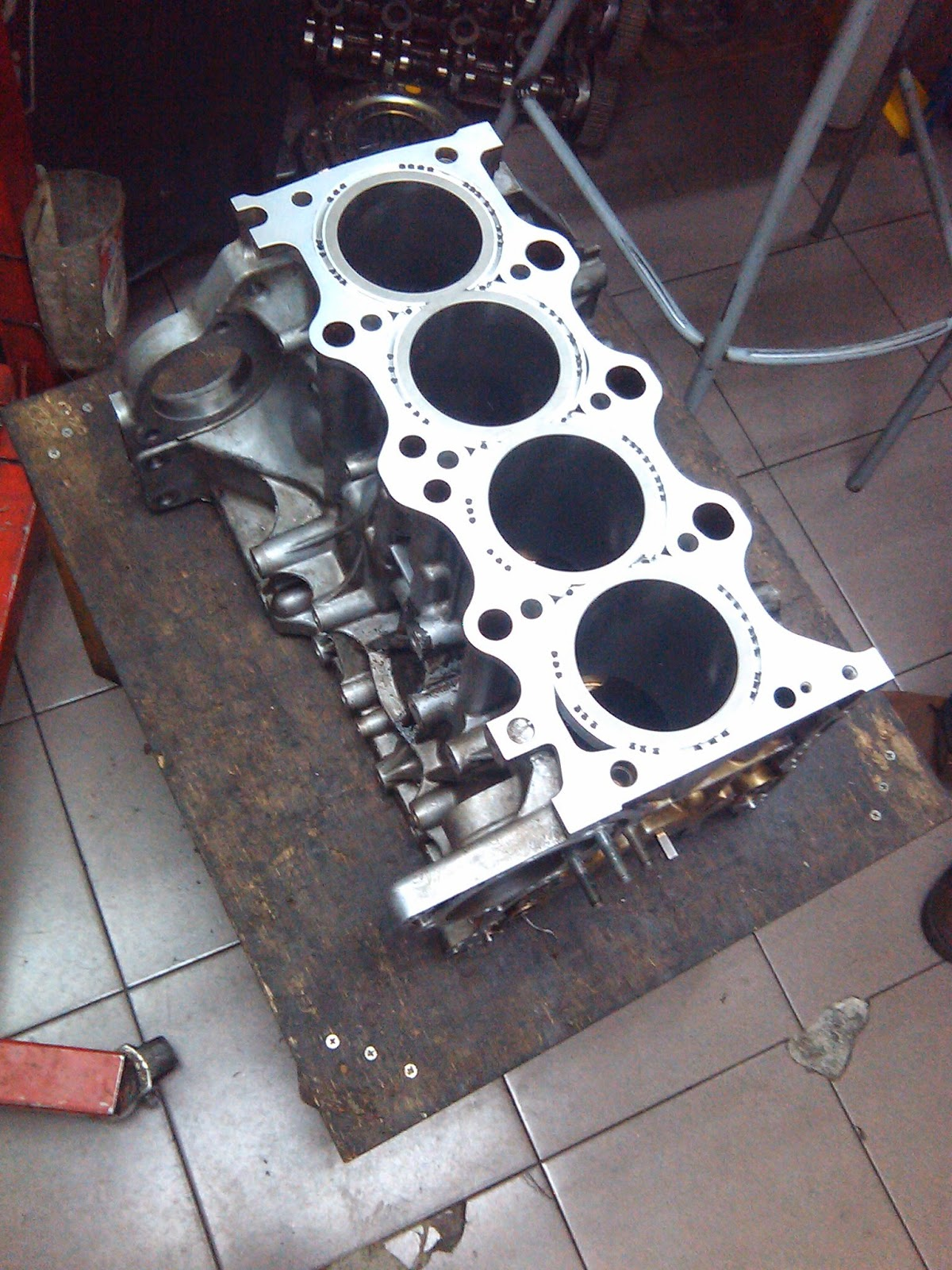 Engine Rebuilding Process