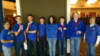 Catholic's Middle School Science Olympiad Team Competes in Auburn 1