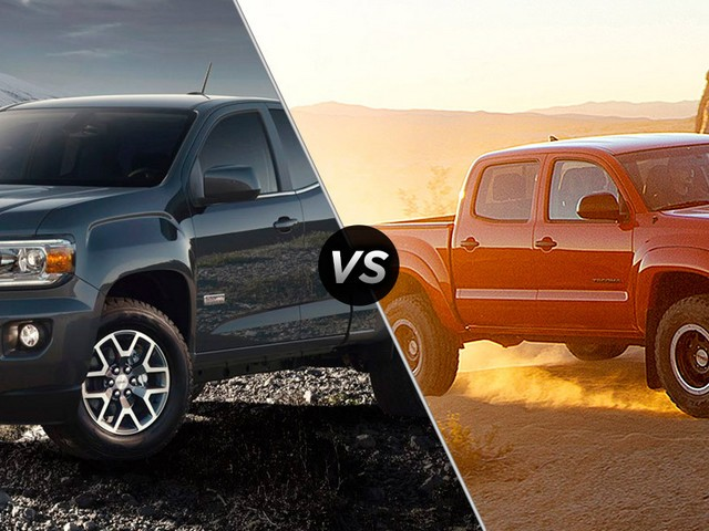 Gmc-Canyon-Vs-Toyota-Tacoma