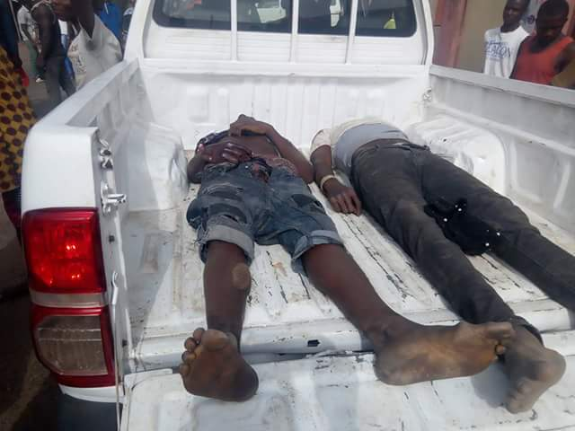 Photos: Governor Ortom demands investigation into death of protesting students in Makurdi