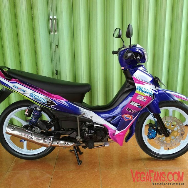 Jupiter Z Ungu Pink Modif Road Race Simple