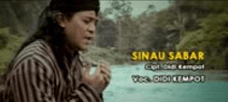 Lirik Lagu Sinau Sabar - Didi Kempot