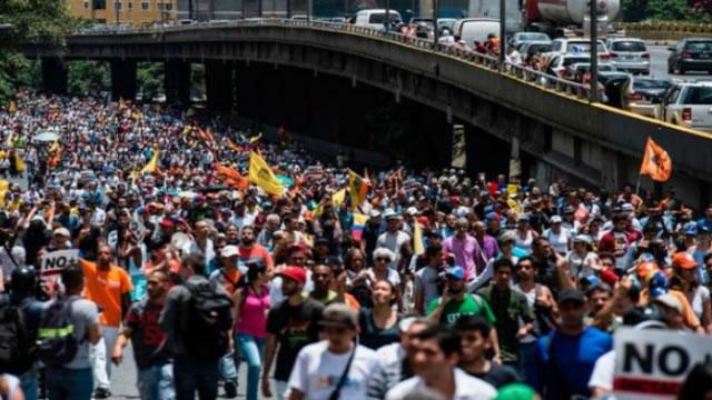 MUD anuncia agenda de protesta para los próximos días