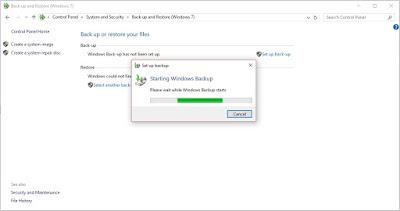 cara backup data windows