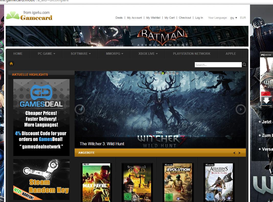d90b00d40 موقع لبيع جميع سيريالات ألعاب الفيديو الأصلية الخاصة بالبلايستايشن والإكس  بوكس وألعاب الكمبيوتر وألعاب آبل كذلك . حيث يتوفر على جديد سيريالات الألعاب  وهو ...