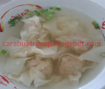 Foto Resep Pangsit Rebus Isi Ayam Giling Kuah Bening Sederhana Spesial Asli Enak