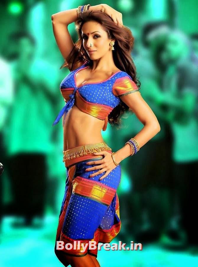 Malaika Arora Khan in Gabbar Singh, Hot Stills from Item Songs of Telugu, Tamil South Indian Cinema