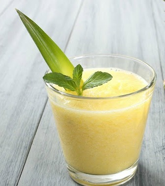Pineapple, Orange, Banana Smoothie - Ioanna's Notebook