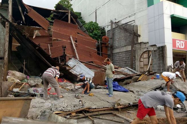 General Santos City Was Struck By A 7.2 Magnitude Earthquake!