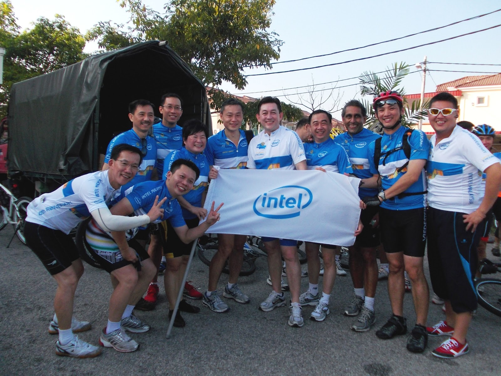 Cool Running: My first long ride - Intel Malaysia 40th