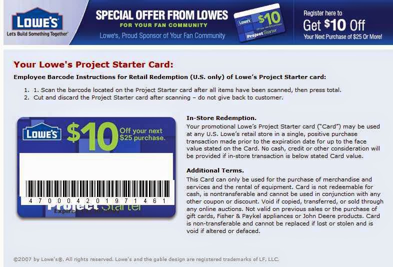 picture regarding Lowes Printable Coupons titled Lowes House Growth Discount codes
