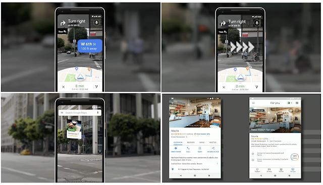 Google Maps - Google I/O 2018 Main Highlight