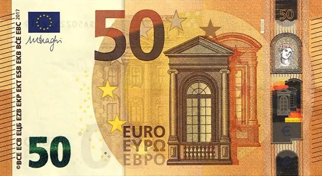 50$ In Eur